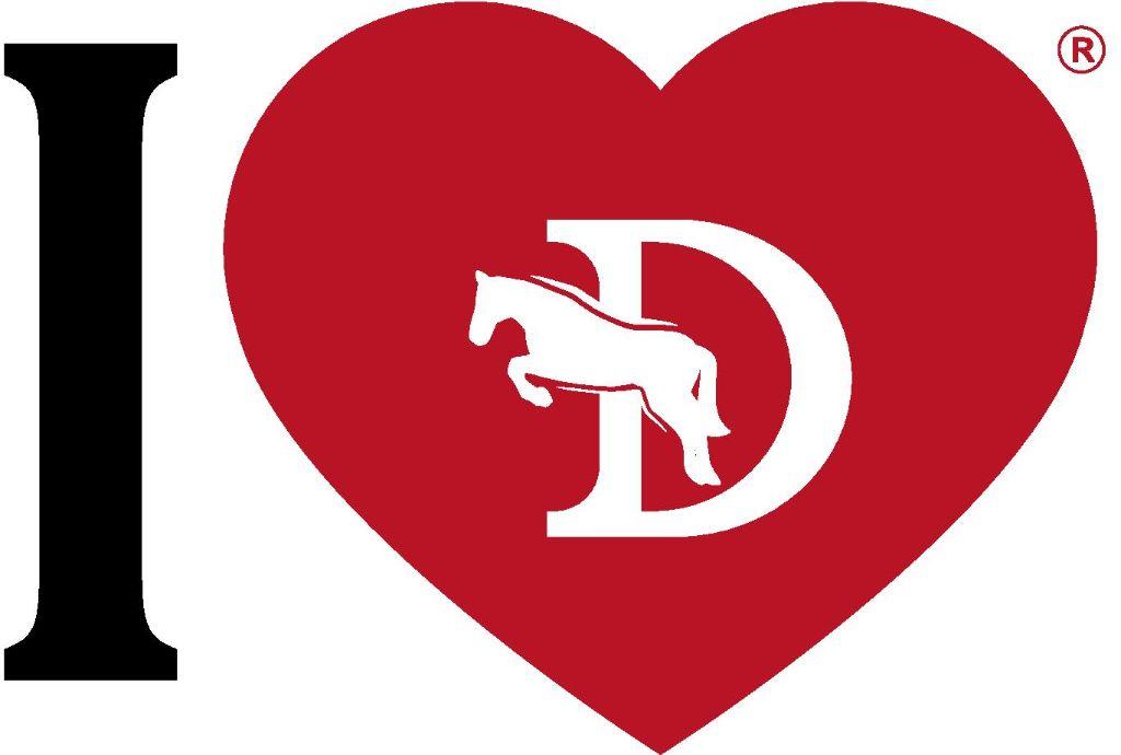 by dj majice crveno srce bijeli lipicanac